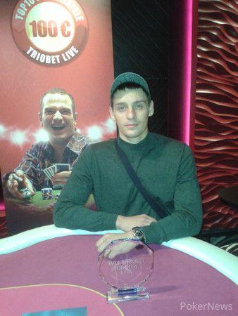 Turniiri võitja Jaroslav Dmitriev