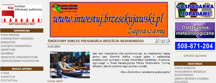 Media w Polsce o sukcesie Dominika Pańki! 101
