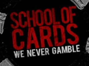 """We Never Gamble"" is the motto at Blake Eastman's School of Cards in New York, NY"
