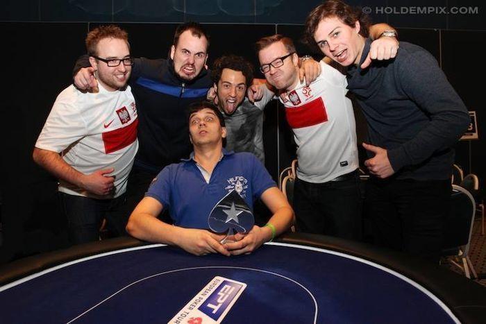 Jakub Michalak wygrywa side event na EPT Deauville