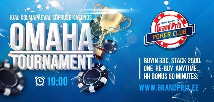 Casino Grand Prix turniirikava saab veebruaris täiendust 101