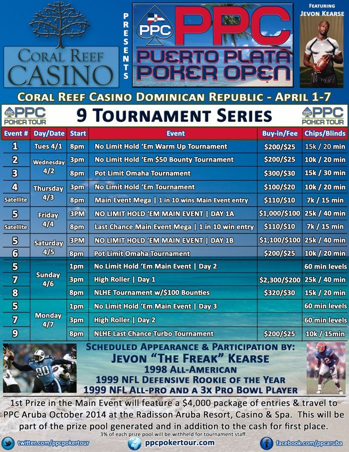 Former NFL Star Jevon Kearse to Play PPC Puerto Plata in Dominican Republic 101