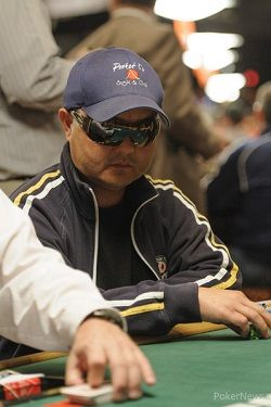 Yang at the 2013 WSOP