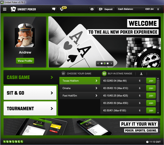 Unibet Releases New Poker Client to Attract Recreational Players 101