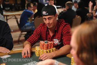 Garrett Adelstein playing the WSOP.