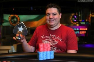 Shaun Deeb won the OFC event at this year's PCA (photo c/o the PokerStars Blog)