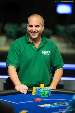 Matt Glantz, all smiles in the PokerStars Caribbean Adventure $100,000 Super High Roller