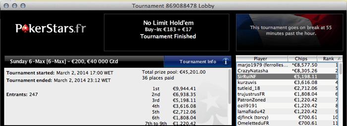 RuiNf, bettinglife e Quintas faturam na PokerStars 102