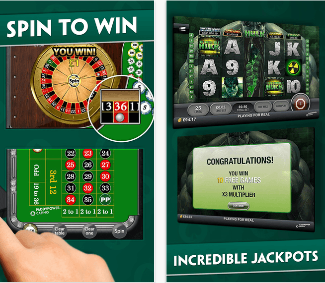 Paddy Power Casino Mobile