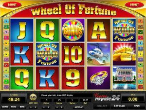 Online slots Wheel of Fortune