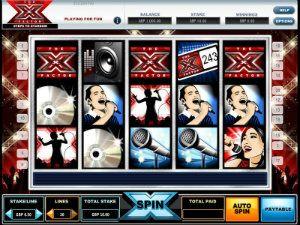 X Factor slots online