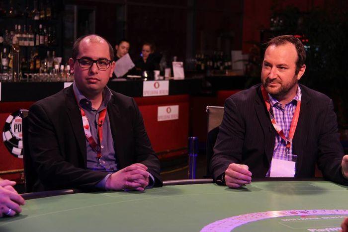 Grégory Chochon aux côtés de Ty Steward, le Boss des WSOP