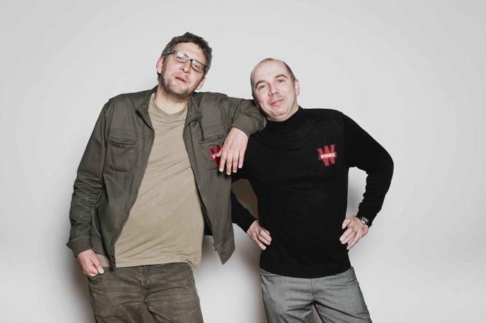 Alexandre Roos et Christophe Schaming