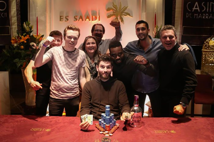 Arron Fletcher Wins 2017 WSOP International Circuit Marrakech Main Event (0,224) 101