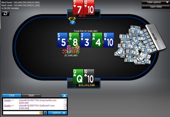 'Enigmasility' Wins 888poker's Super XL Series Main Event 101