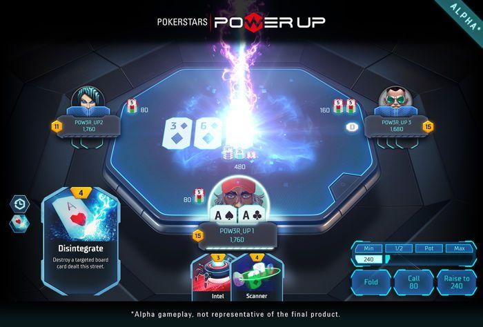 Το PokerStars δοκιμάζει το Power Up, ένα νέο παιχνίδι πόκερ 102
