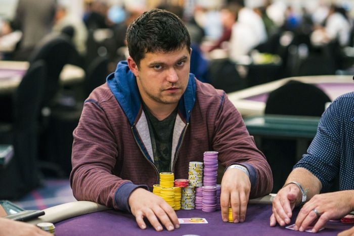 Cody Slaubaugh Bags Day 1 Overall Chip Lead at WPT Legends of Poker 101