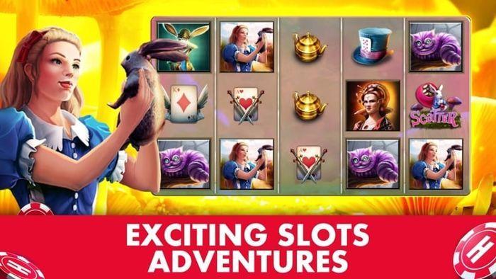 wonderland huuge slots game