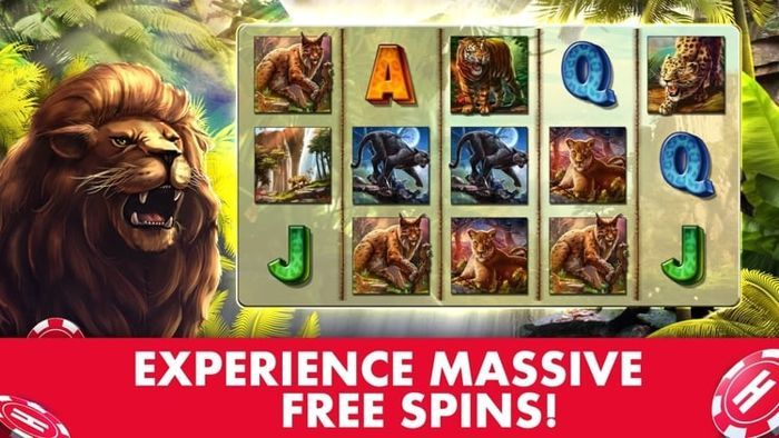 Cats slots game online at Huuuge Casino
