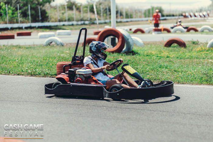 Cash Game Festival Bulgaria Go Kart Competition