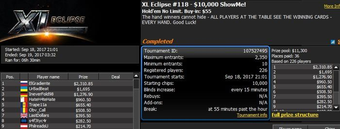 888poker XL Eclipse Day 9: 'Chip In' Events to Raise Money for REG 102