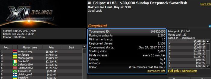 888poker XL Eclipse Tag 15: 'CllsDntMttr' holt das Main Event für 3,038 101