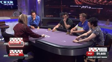 Haxton and Galfond Create PLO Problems for Each Other on PokerGO 101