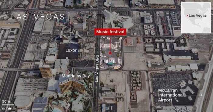Las Vegas : 59 morts et plus de 510 blessés dans une fusillade, Dan Bilzerian s'échappe 101