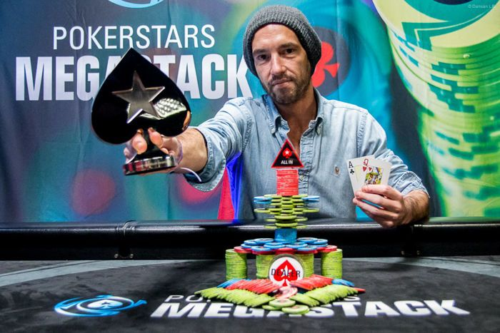 Megastack PokerStars : 1051 entrées à Namur et un deal pour finir 101