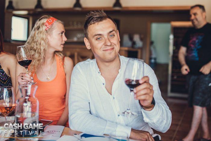 Cash Game Festival Bulgaria Winery Tasting Trip