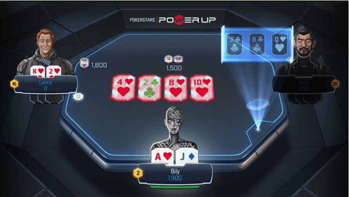 PokerStars' futuristisches 'Power Up' Game nun auch mit Echtgeld 102