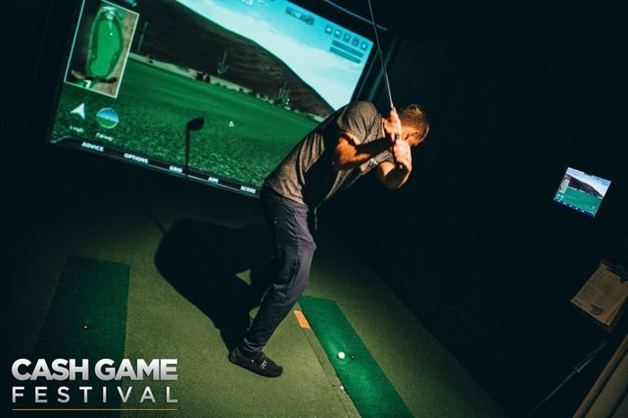 Cash Game Festival London Simulated Golf