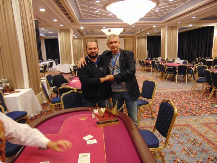 Ο Δημήτρης Γκατζάς κατακτά το €550 High Roller του October... 101