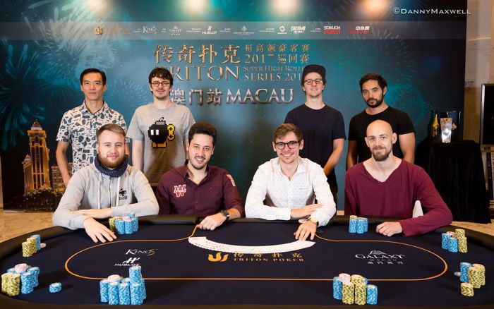 Triton Super High Roller Series MacauHKD $1,000,000 Main Event Final Table 2017