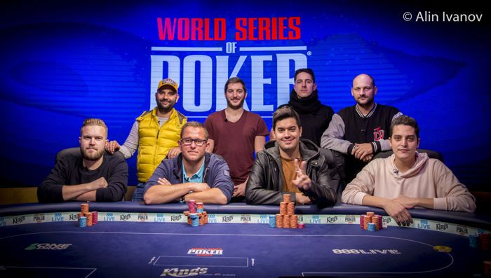 WSOPE Event #2 Final Table