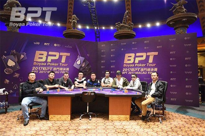 2017 Boyaa Poker Tour Macau Final Table is Set; Vietnam Wins Squad Event 101