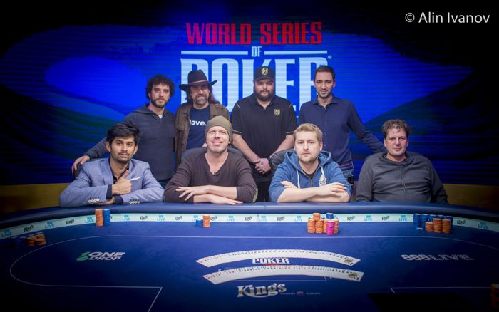 WSOPE Event #7 Final Table