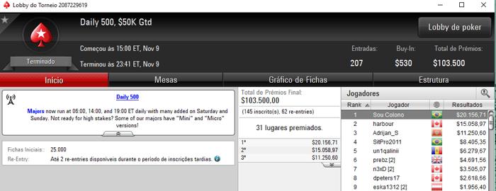Diego Valadares e Rodrigo Schneider Detonam PokerStars & Mais 104