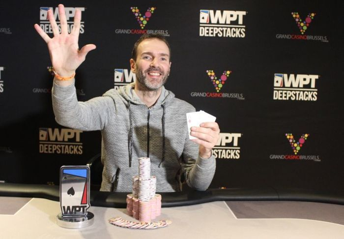 WPT DeepStacks Brussels : Laurent Polito Puissance 5 101