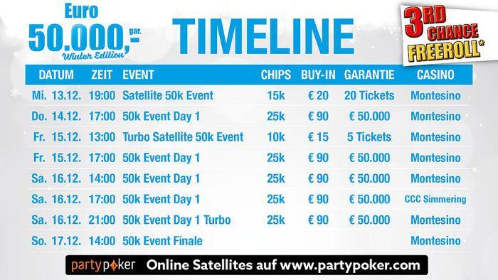 Spannende Live Poker Turniere im Dezember 101