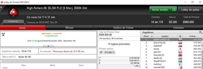 tjbentham e Pedro Madeira Recebem Prêmios no High Rollers do PokerStars 103