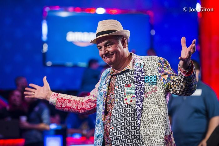 Top 10 Stories of 2017, 2: John Hesp Reignites Poker Excitement During WSOP Main Event 101