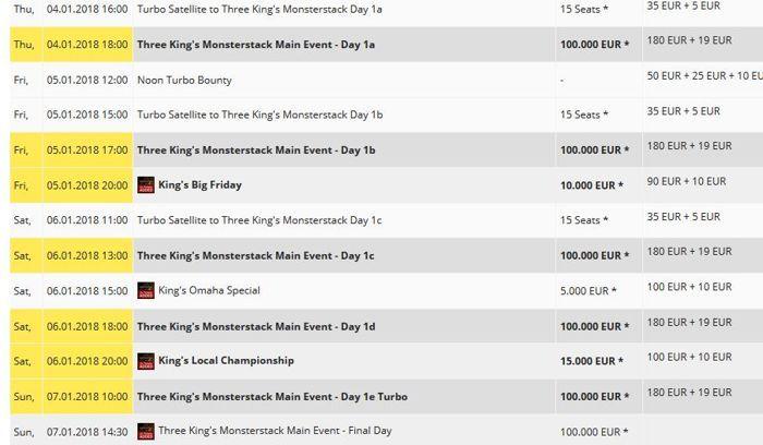 Spannende Live Poker Turniere im Januar 101