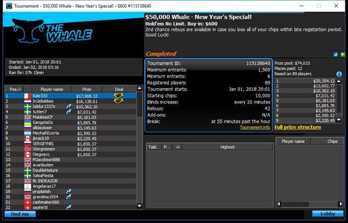 """Steven """"SvZff"""" van Zadelhoff zet uitstekende run voort & wint New Year's Special op 888poker! 101"""
