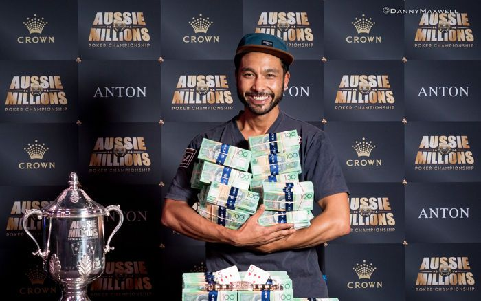 Shurane Vijayaram - A$10,000 Main Event Aussie Millions Winner 2017