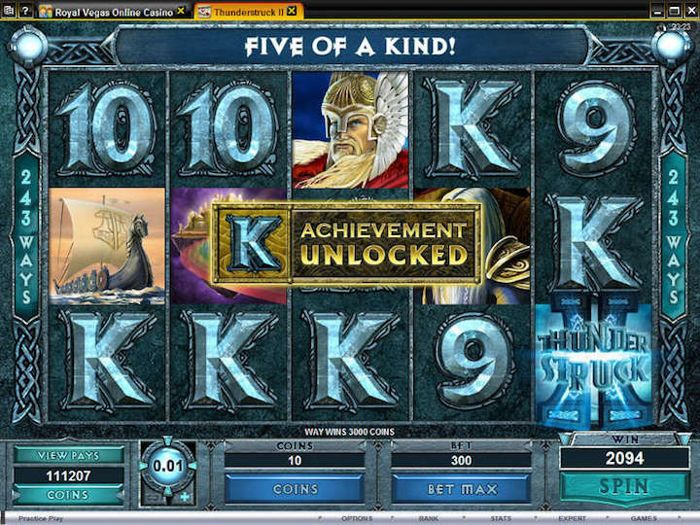 Thunderstruck II is a great online slot to play at PartyCasino in 2018