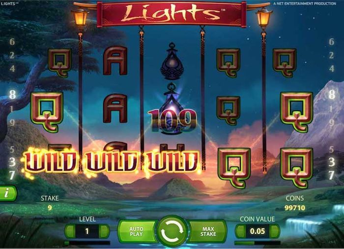 Lights best mobile slots