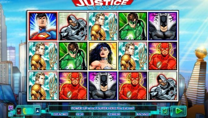 Justice League is the best mobile slot machine with progressive jackpot