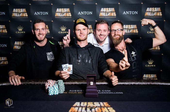 Bas de Laat Defeats Adam Agresta to Win Aussie Millions Event #5 101