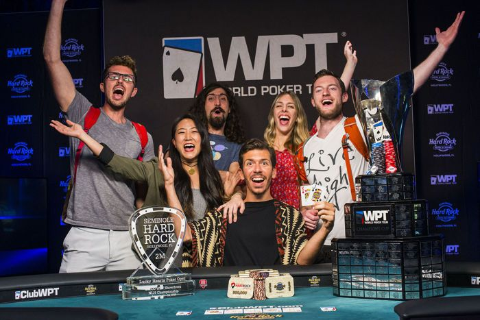 WPT LHPO Main Event winner Darryll Fish